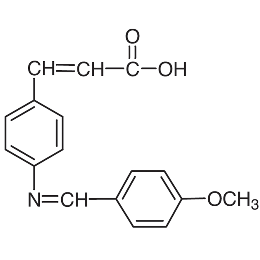 4-[(4-Methoxybenzylidene)amino]cinnamic Acid