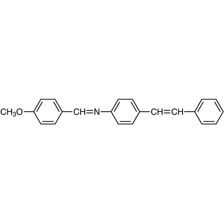 4-[(Methoxybenzylidene)amino]stilbene