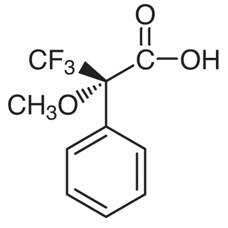 (S)-(-)-α-Methoxy-α-(trifluoromethyl)phenylacetic Acid [Optical Resolving]