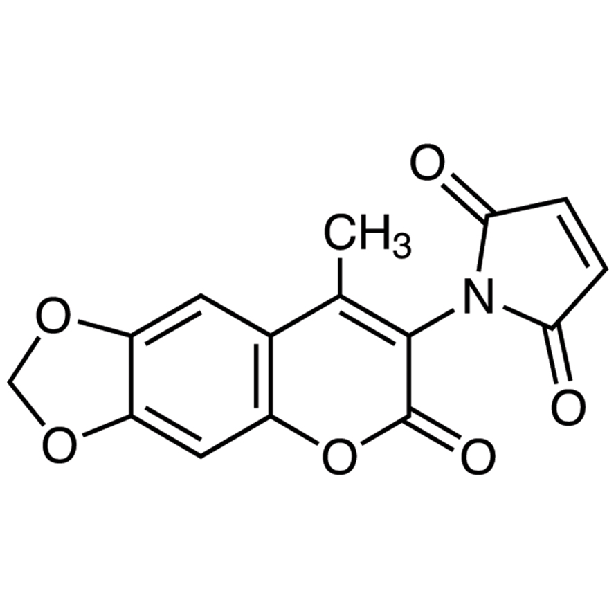 6,7-Methylenedioxy-4-methyl-3-maleimidocoumarin [for HPLC Labeling]