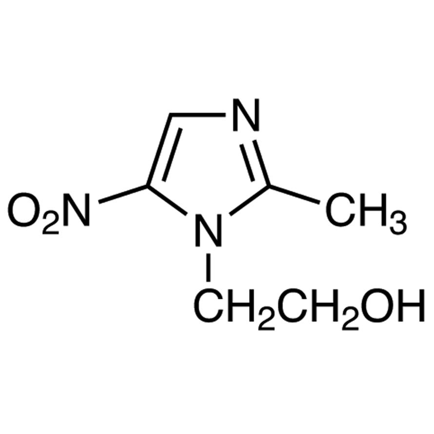 2-Methyl-5-nitroimidazole-1-ethanol