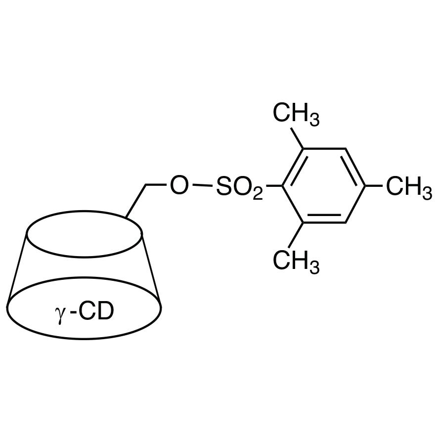 Mono-6-O-mesitylenesulfonyl-γ-cyclodextrin
