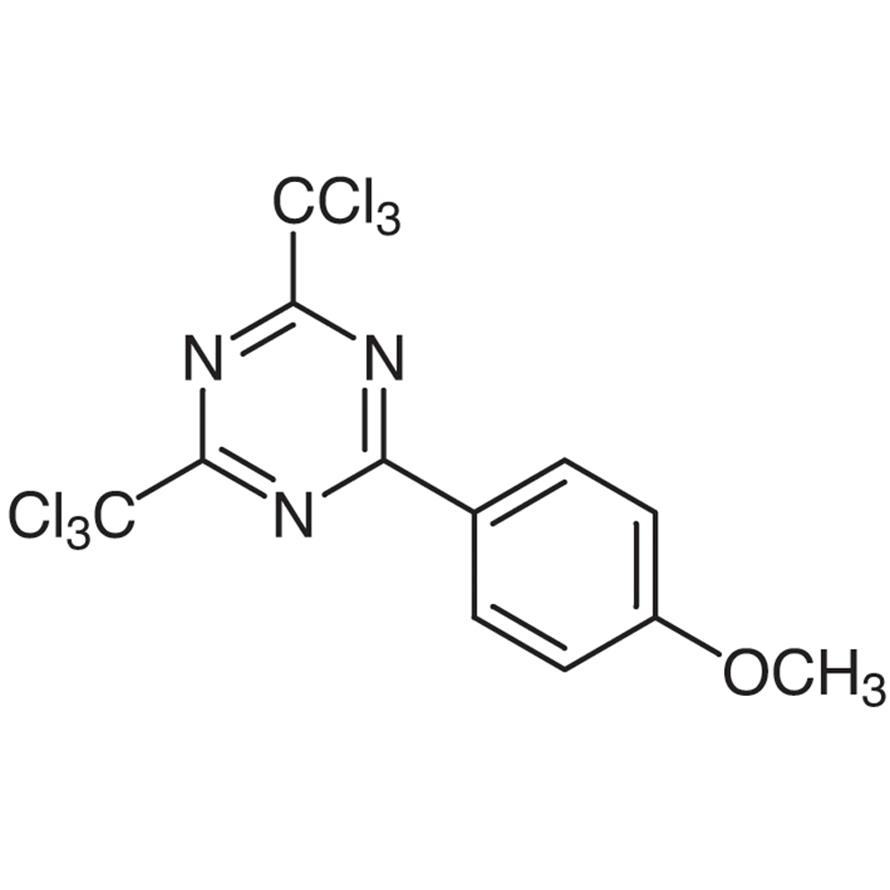 2-(4-Methoxyphenyl)-4,6-bis(trichloromethyl)-1,3,5-triazine
