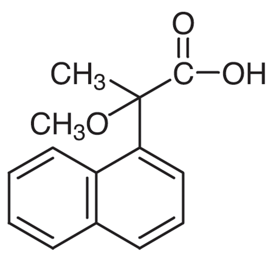 2-Methoxy-2-(1-naphthyl)propionic Acid
