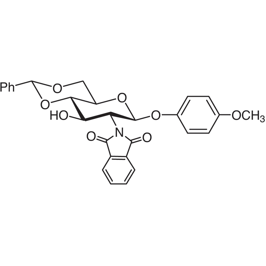 4-Methoxyphenyl 4,6-O-Benzylidene-2-deoxy-2-phthalimido--D-glucopyranoside
