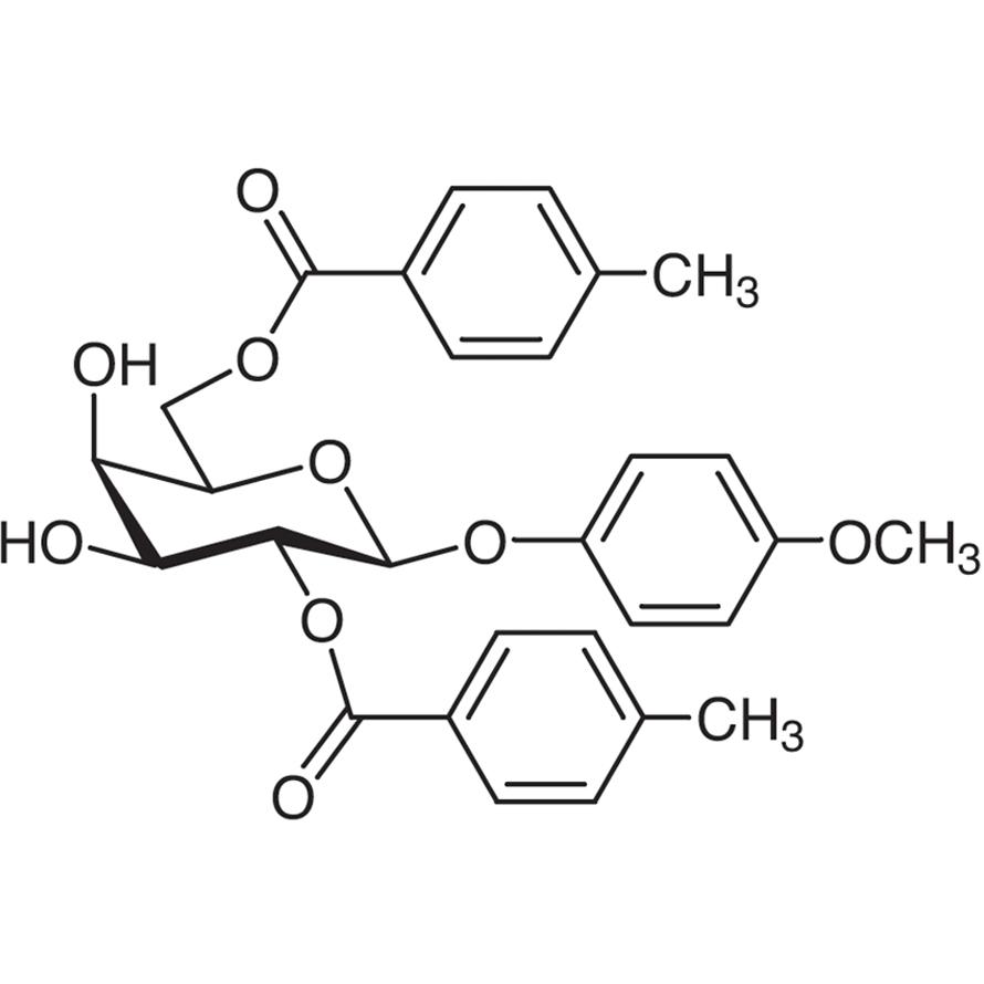 4-Methoxyphenyl 2,6-Bis-O-(4-methylbenzoyl)--D-galactopyranoside