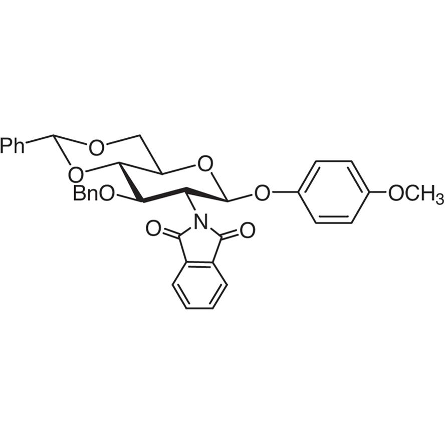 4-Methoxyphenyl 3-O-Benzyl-4,6-O-benzylidene-2-deoxy-2-phthalimido--D-glucopyranoside