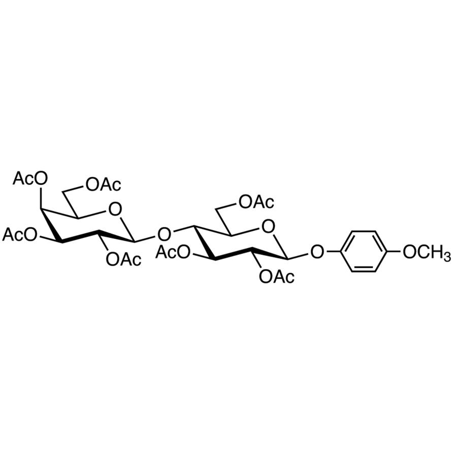 Gal[2346Ac]β(1-4)Glc[236Ac]-β-MP