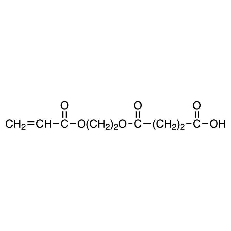 Mono(2-acryloyloxyethyl) Succinate (stabilized with MEHQ)