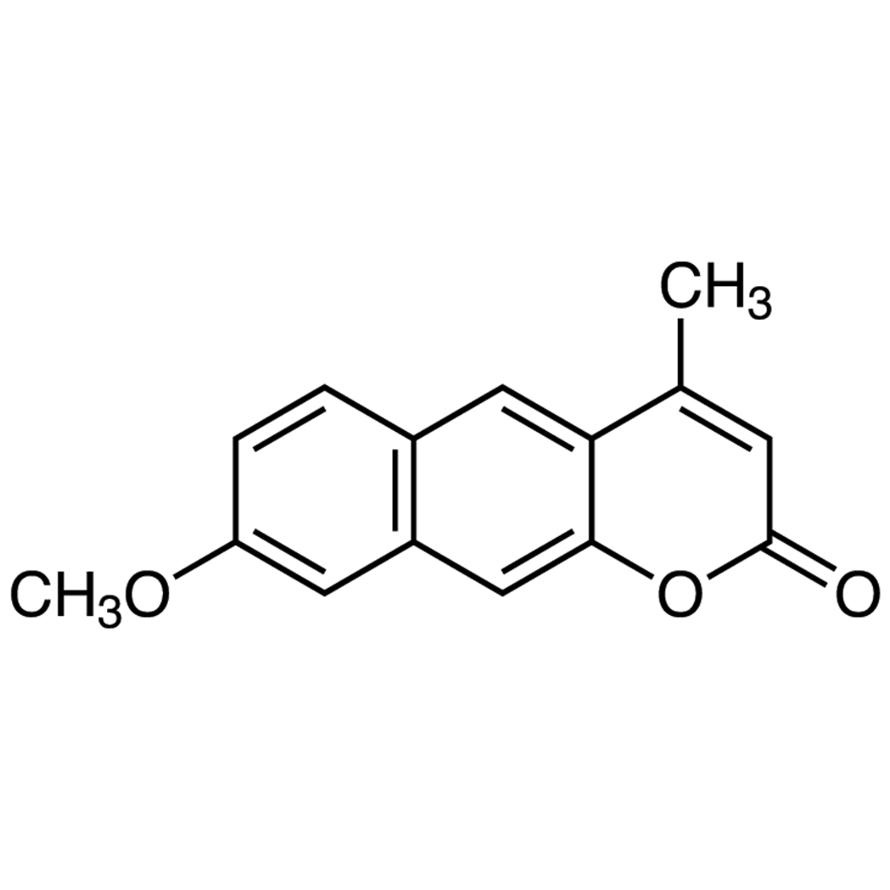 8-Methoxy-4-methylbenzo[g]coumarin