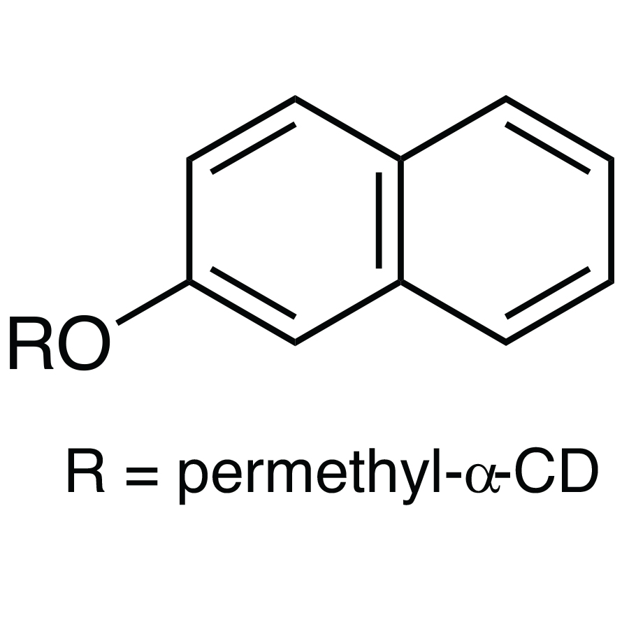 Mono-6-O-(2-naphthyl)-per-O-methyl-α-cyclodextrin