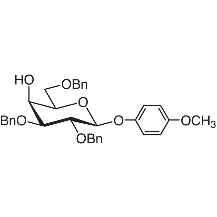 4-Methoxyphenyl 2,3,6-Tri-O-benzyl--D-galactopyranoside