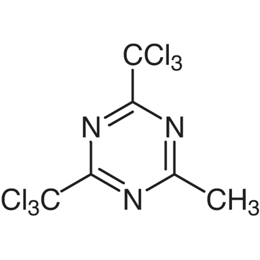 2-Methyl-4,6-bis(trichloromethyl)-1,3,5-triazine