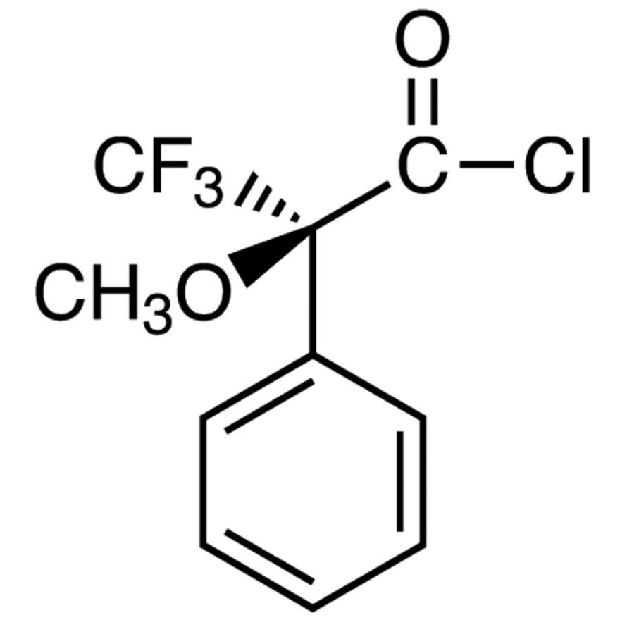 (S)-(+)--Methoxy--(trifluoromethyl)phenylacetyl Chloride (ca. 18% in Dichloromethane, ca. 1.0mol/L) [for Determination of the optical purity of Alcohols and Amines]