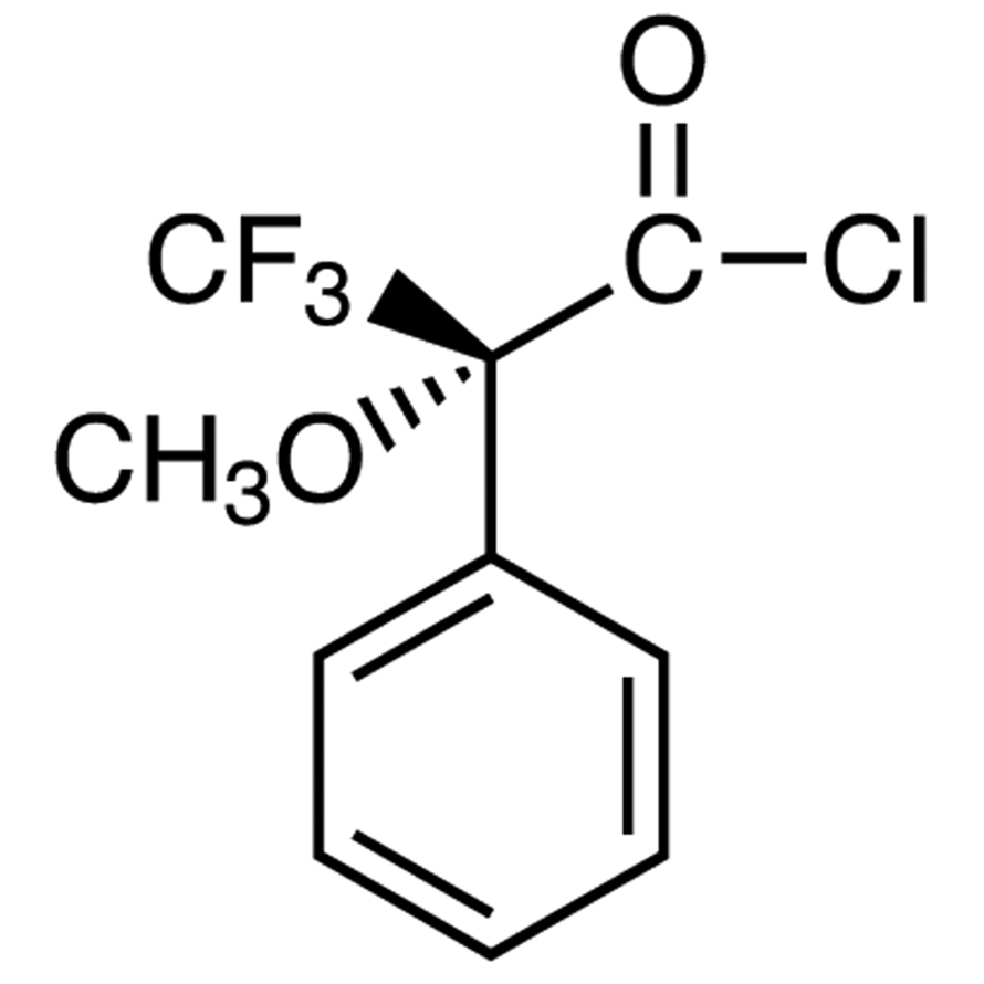 (R)-(-)--Methoxy--(trifluoromethyl)phenylacetyl Chloride (ca. 18% in Dichloromethane, ca. 1.0mol/L) [for Determination of the optical purity of Alcohols and Amines]