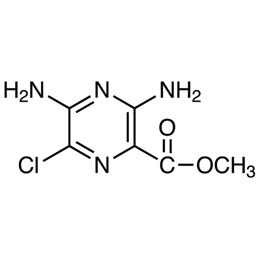 Methyl 3,5-Diamino-6-chloropyrazine-2-carboxylate