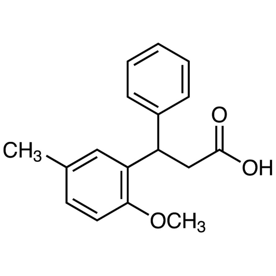 3-(2-Methoxy-5-methylphenyl)-3-phenylpropionic Acid