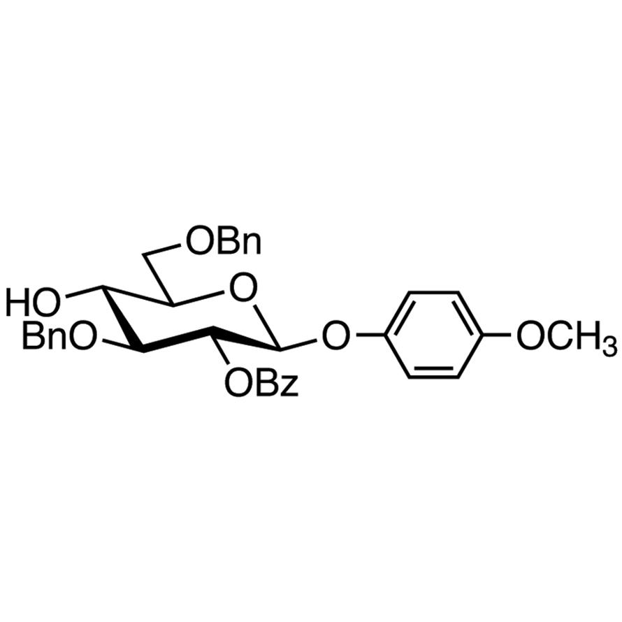 4-Methoxyphenyl 2-O-Benzoyl-3,6-di-O-benzyl--D-glucopyranoside