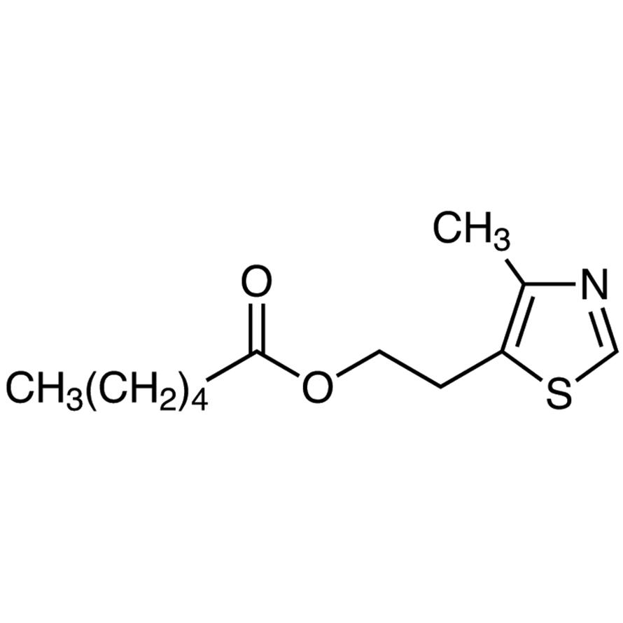 2-(4-Methyl-5-thiazolyl)ethyl Hexanoate