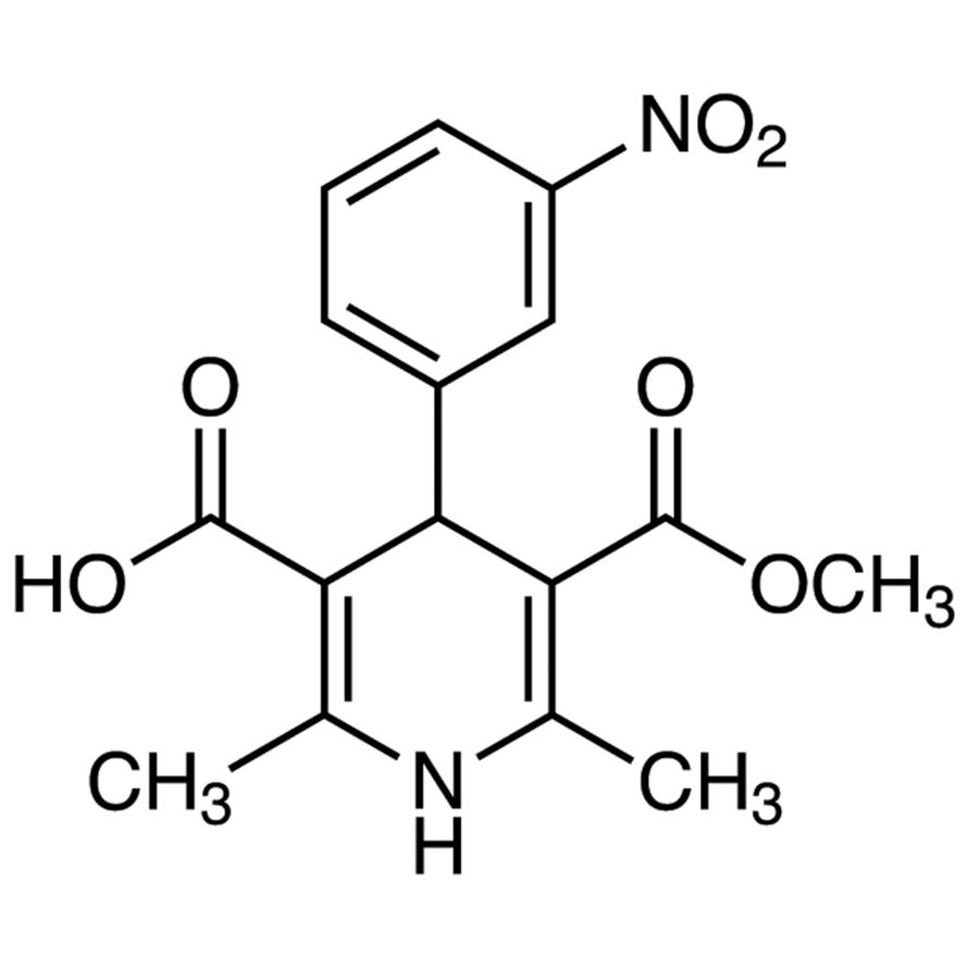 Monomethyl 1,4-Dihydro-2,6-dimethyl-4-(3-nitrophenyl)-3,5-pyridinedicarboxylate