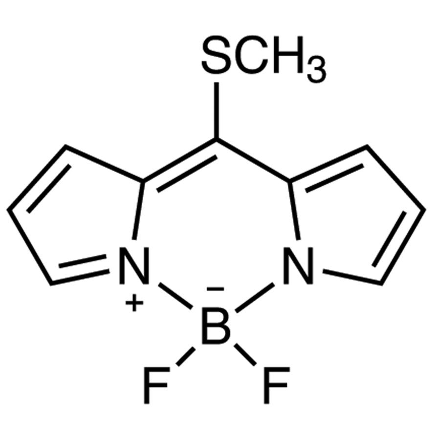 [2-[(Methylthio)(2H-pyrrol-2-ylidene)methyl]-1H-pyrrole](difluoroborane)