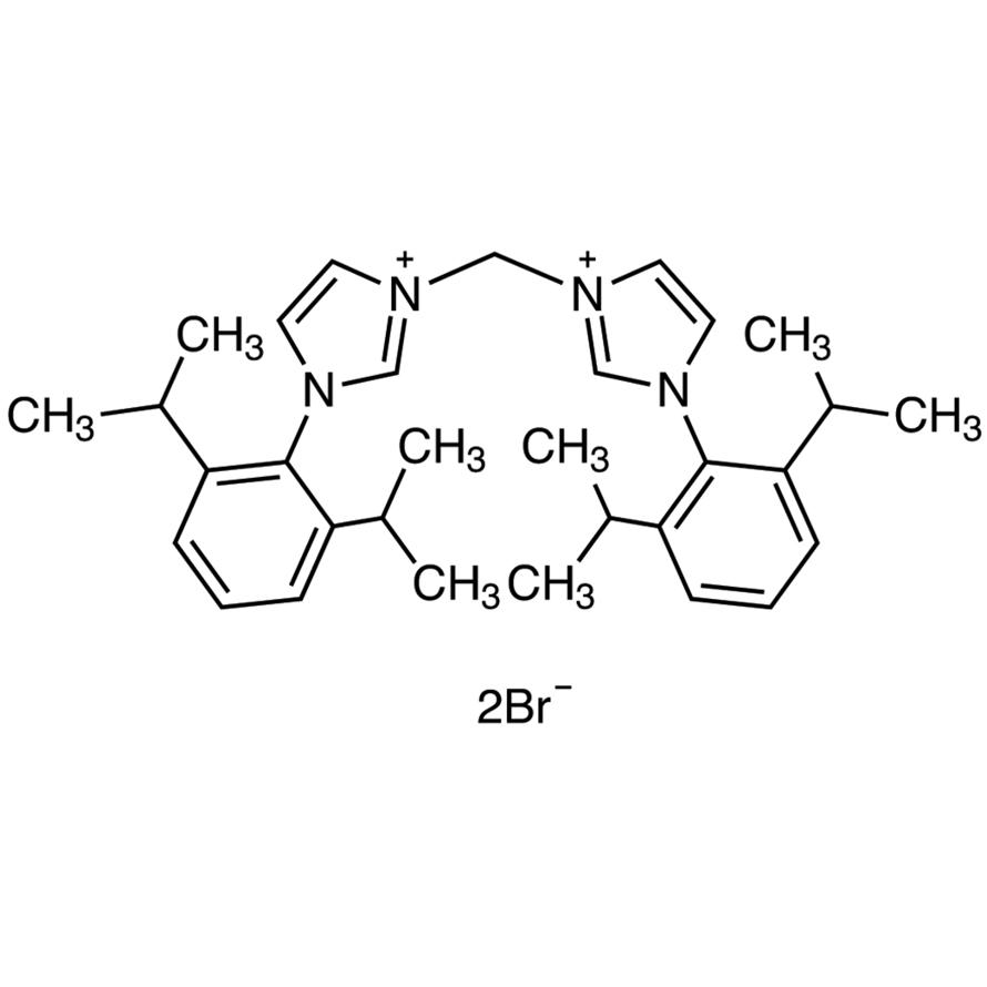 3,3'-Methylenebis[1-(2,6-diisopropylphenyl)-3-imidazolium Bromide]
