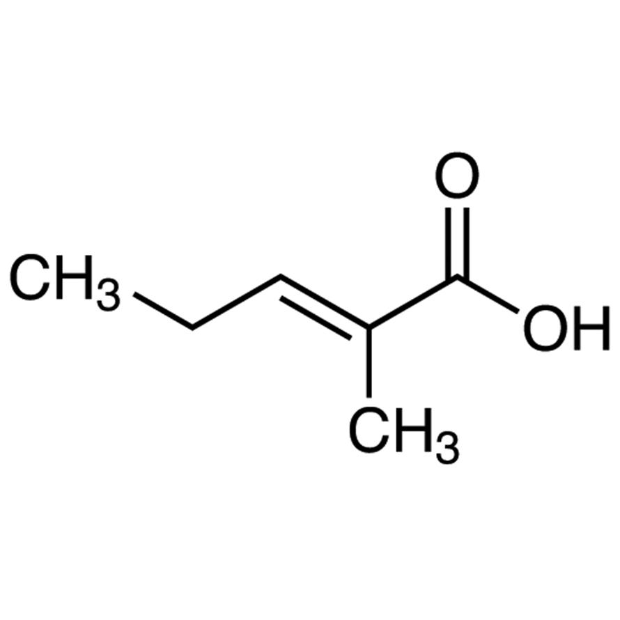trans-2-Methyl-2-pentenoic Acid