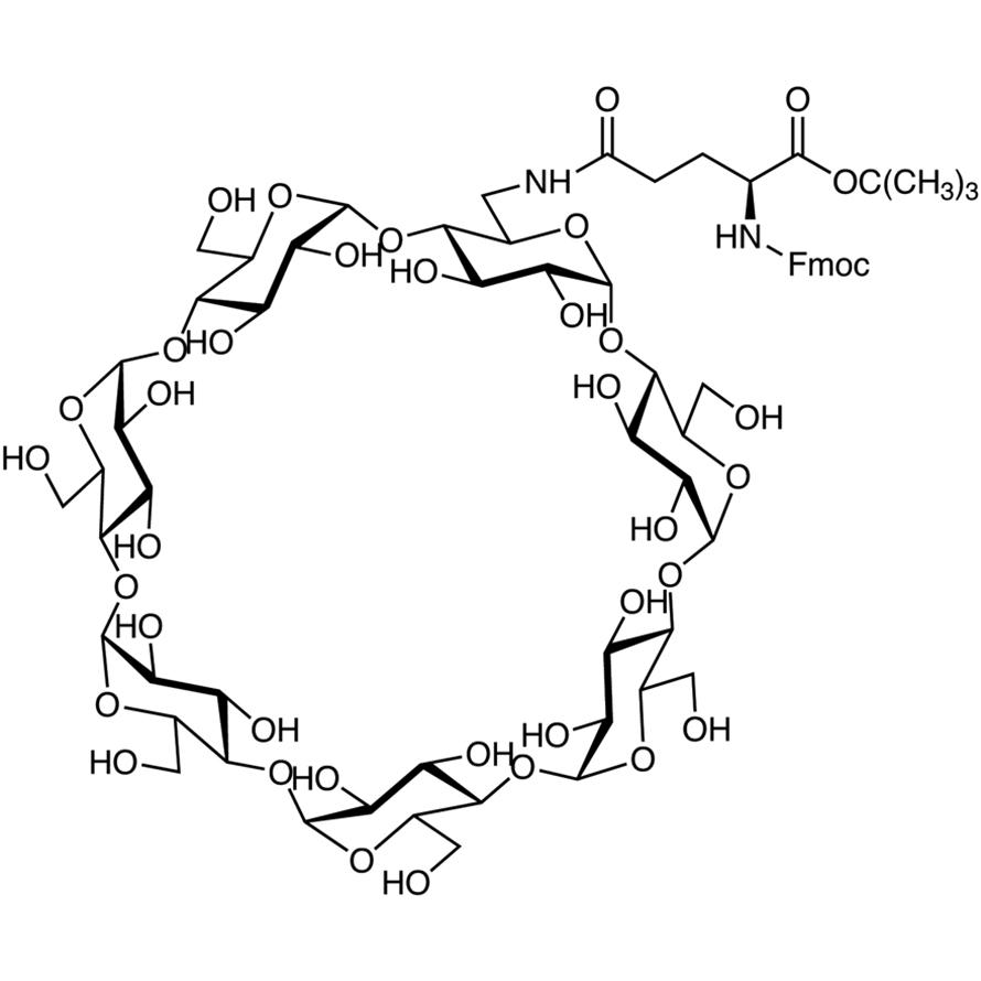 Mono-6-(Fmoc-Gln-OtBu)-β-CD