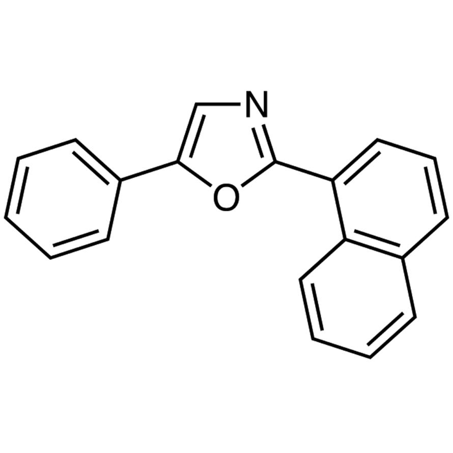 2-(1-Naphthyl)-5-phenyloxazole [for scintillation spectrometry]