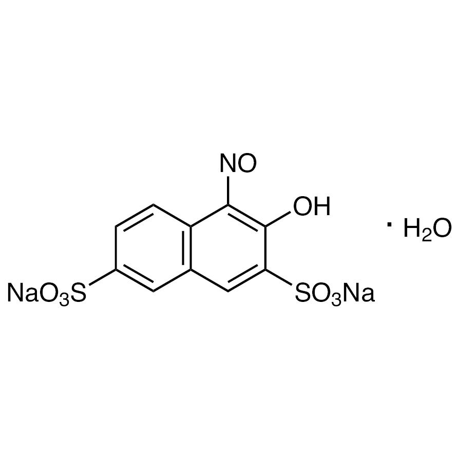 Disodium 1-Nitroso-2-naphthol-3,6-disulfonate Monohydrate
