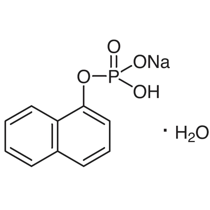 Monosodium 1-Naphthyl Phosphate Monohydrate [Substrate for Phosphatase]