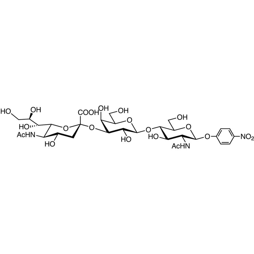 Neu5Ac(2-3)Gal(1-4)GlcNAc--pNP