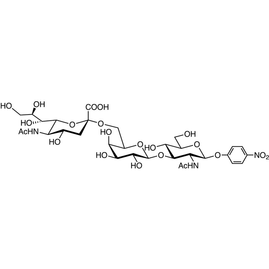 Neu5Ac(2-6)Gal(1-3)GlcNAc--pNP