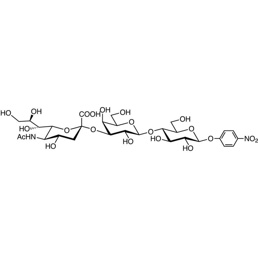 Neu5Ac(2-3)Gal(1-4)Glc--pNP