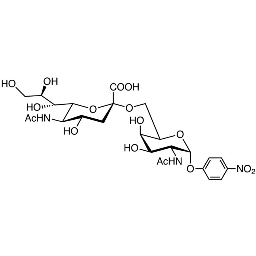 Neu5Ac(2-6)GalNAc--pNP