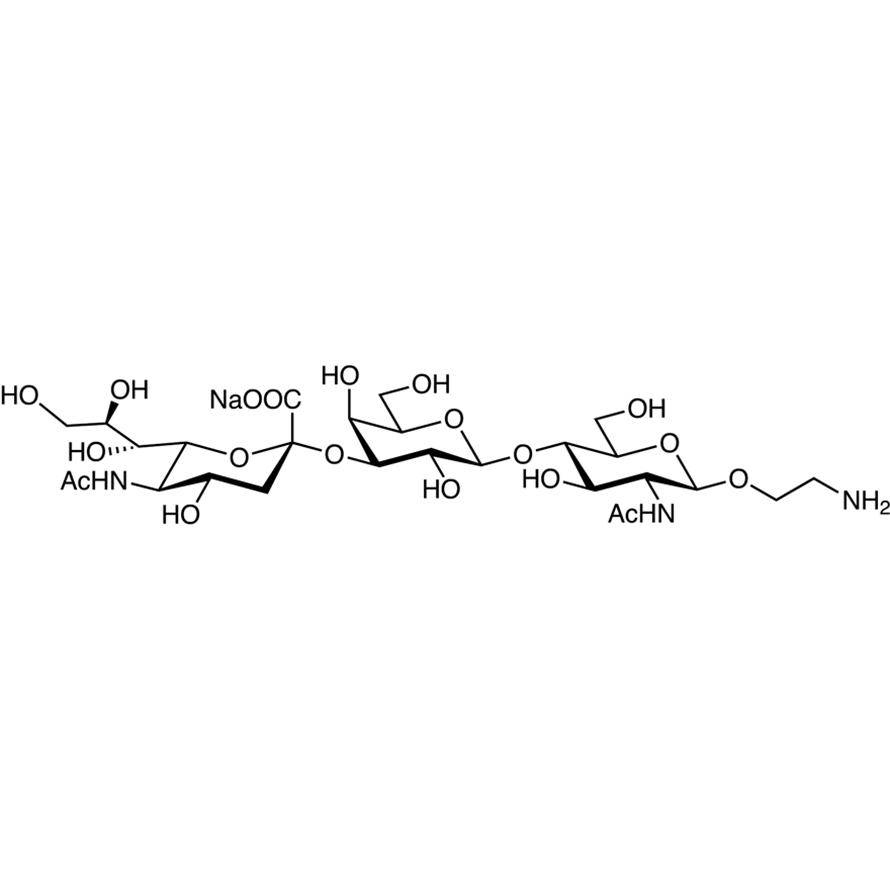Neu5Ac(2-3)Gal(1-4)GlcNAc--ethylamine