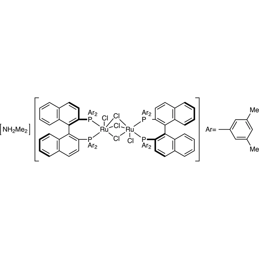 [NH2Me2][(RuCl((R)-xylbinap))2(μ-Cl)3]