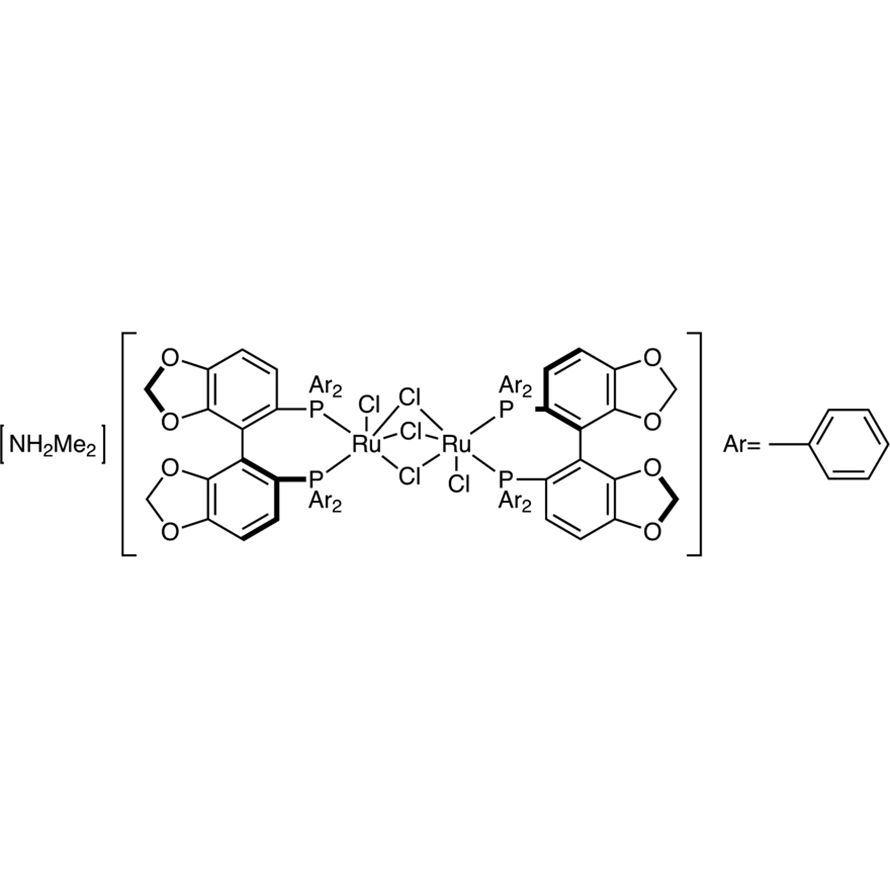 [NH2Me2][(RuCl((S)-segphos))2(μ-Cl)3]