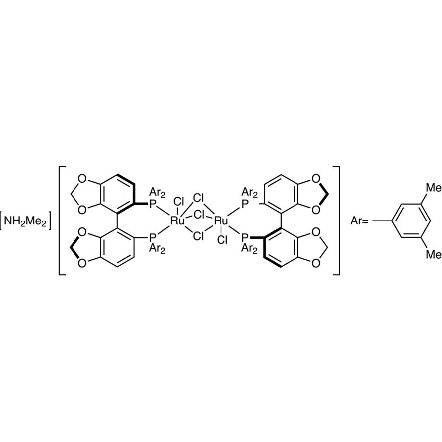 [NH2Me2][(RuCl((R)-dm-segphos))2(μ-Cl)3]