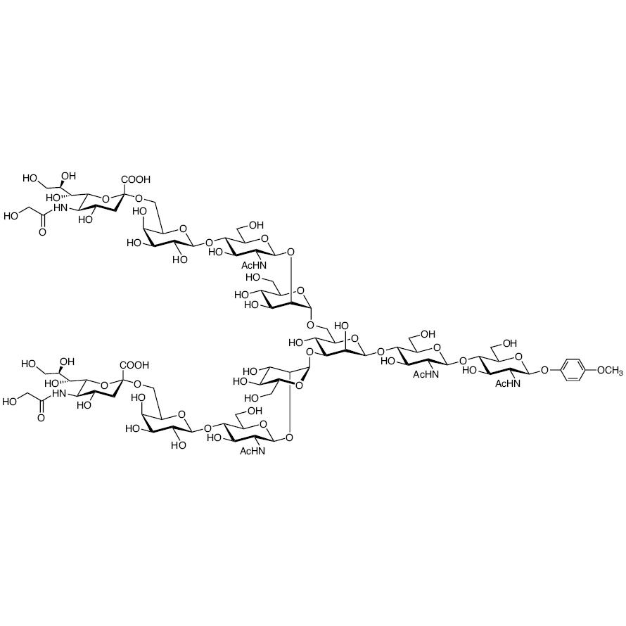 Neu5Gc(2-6) N-Glycan MP Glycoside