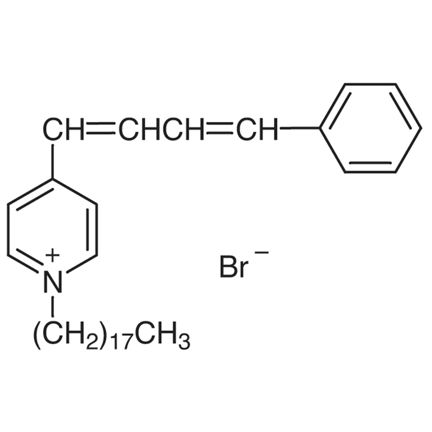 1-Octadecyl-4-(4-phenyl-1,3-butadienyl)pyridinium Bromide
