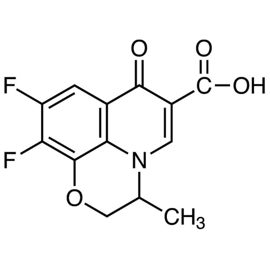 9,10-Difluoro-2,3-dihydro-3-methyl-7-oxo-7H-pyrido[1,2,3-de]-1,4-benzoxazine-6-carboxylic Acid