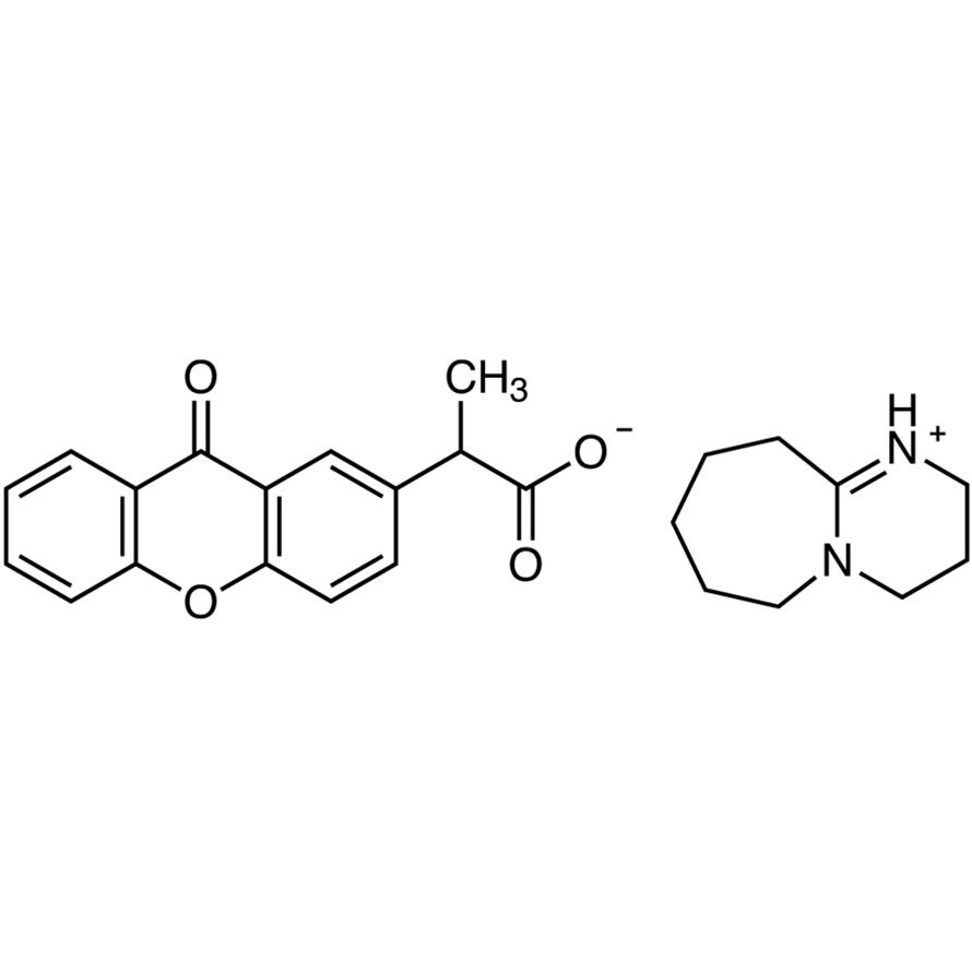 2-(9-Oxoxanthen-2-yl)propionic Acid 1,8-Diazabicyclo[5.4.0]undec-7-ene Salt