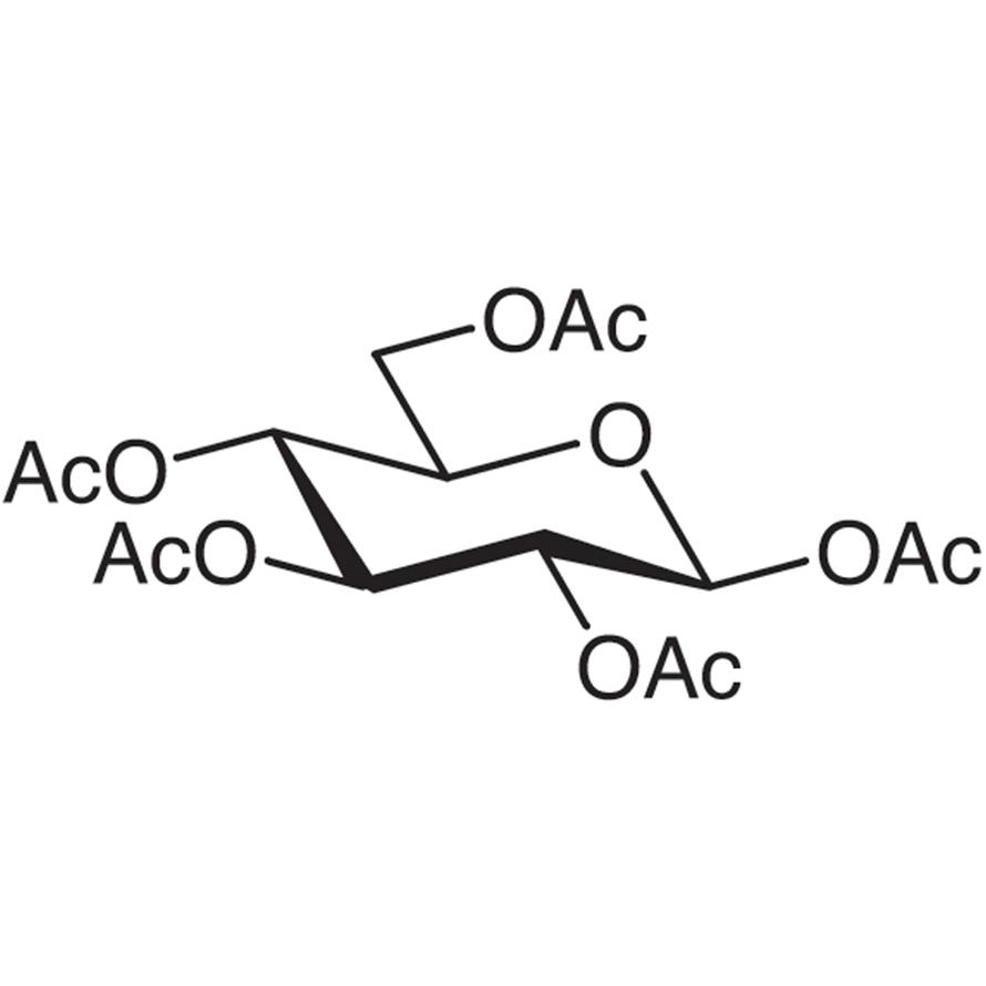 Penta-O-acetyl--D-glucopyranose