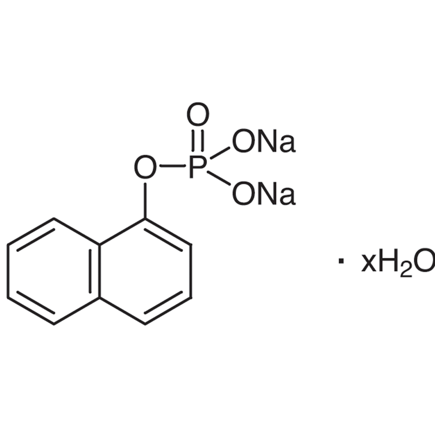 Disodium 1-Naphthyl Phosphate Hydrate [Substrate for Phosphatase]