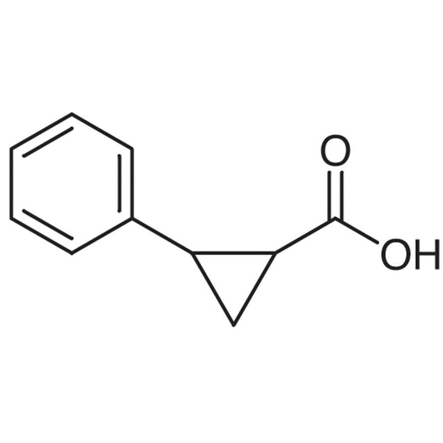 trans-2-Phenyl-1-cyclopropanecarboxylic Acid