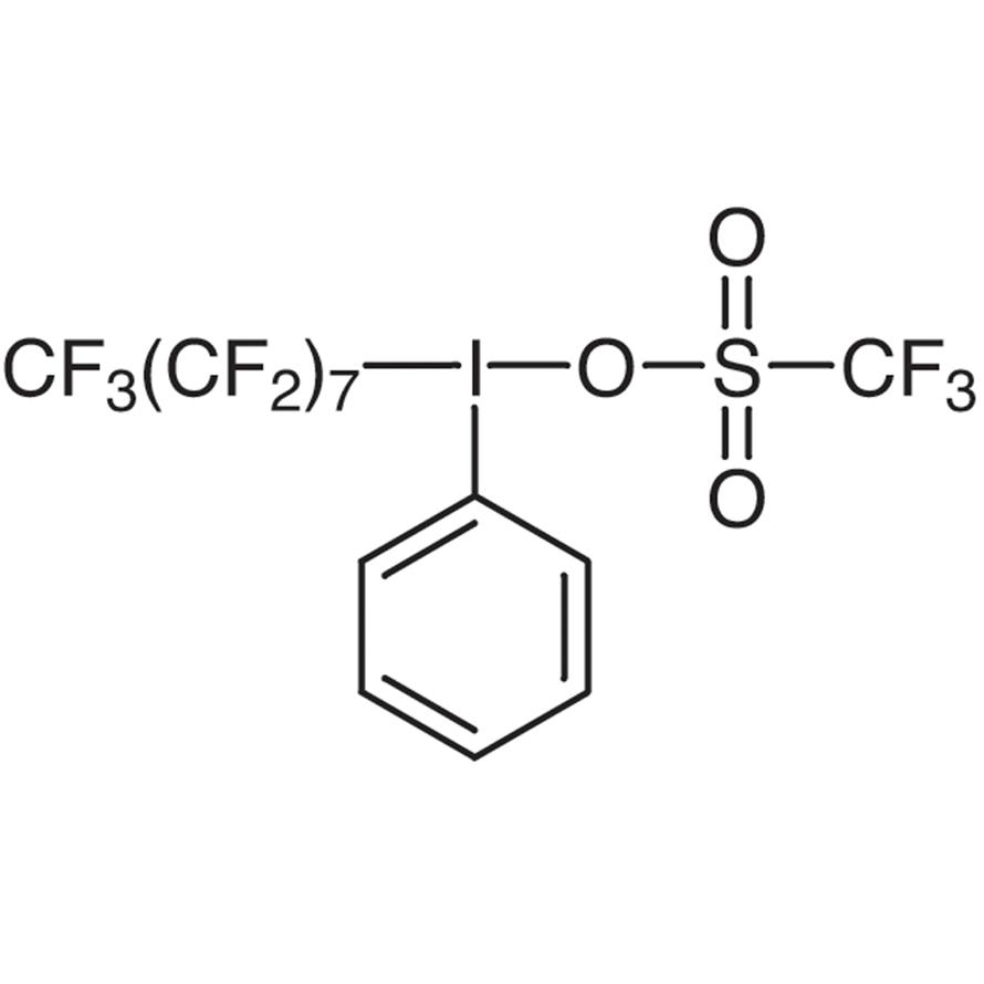 (Perfluoro-n-octyl)phenyliodonium Trifluoromethanesulfonate