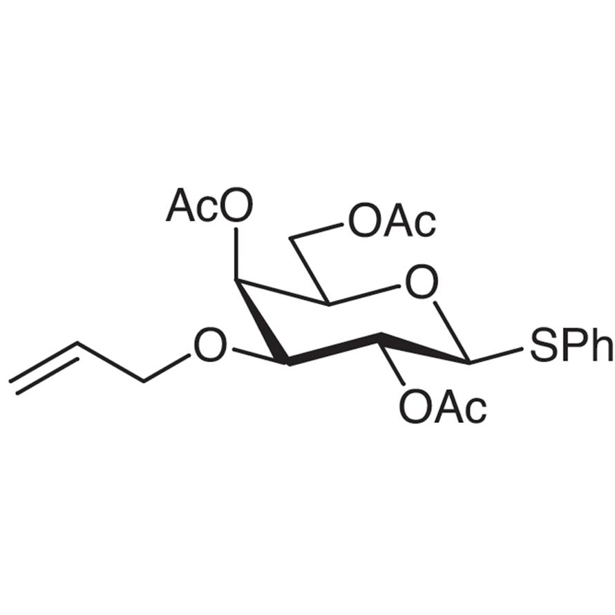 Phenyl 2,4,6-Tri-O-acetyl-3-O-allyl-1-thio--D-galactopyranoside