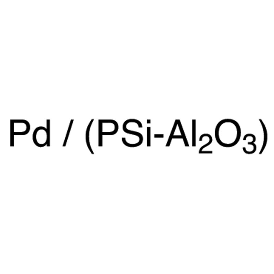 Poly(methylphenyl)silane supported Palladium/Alumina Hybrid Catalyst [=Pd / (PSi-Al2O3)]