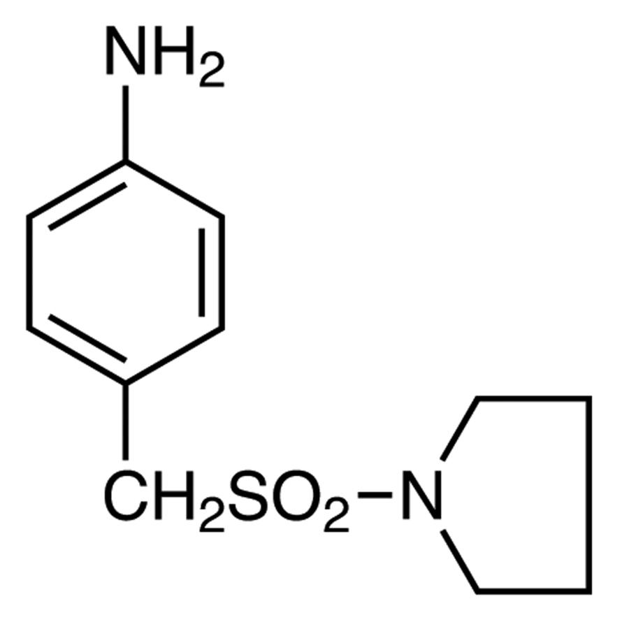 4-[(1-Pyrrolidinylsulfonyl)methyl]aniline